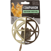 Companion Squeaking Caged Ball Cat Toy