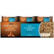 Pro Plan Cat Wet Savor Adult Sole & Vegetable Entree in Sauce Cat Food