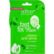 Alba Botanica Papaya Anti-Acne Fast Fix Sheet Mask