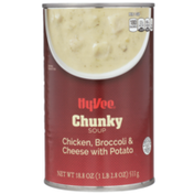Hy-Vee Chicken, Broccoli & Cheese With Potato Chunky Soup