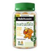 Children's Robitussin Naturals Cough Relief Gummies Ivy Leaf, Naturals Cough Relief Gummies Ivy Leaf