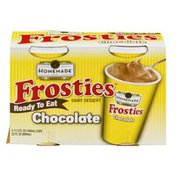 Homemade Frosties Dairy Dessert Chocolate - 2 CT