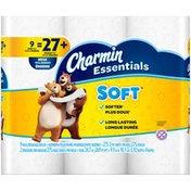 Charmin Essentials Soft Toilet Paper Charmin Essentials Soft Toilet Paper 9 Huge Rolls