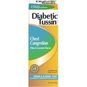 Diabetic Tussin Congestion Diabetic Tussin Chest Congestion