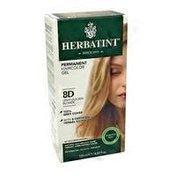 Herbatint 8 D Light Golden Blonde Permanent Herbal Haircolor Gel