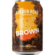 Golden Road Brewing Get Up Offa That Brown Ale Beer Can
