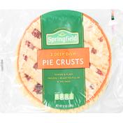Springfield Pie Crusts, Deep Dish, Tender & Flaky