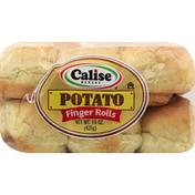 Calise Bakery Finger Rolls, Potato