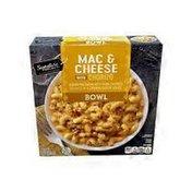 Signature Select Mac & Cheese With Chorizo Elbow Macaroni With Pork Chorizo Sausage In A Creamy Cheese Sauce Bowl