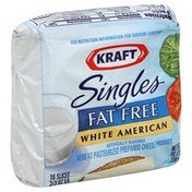 Kraft Cheese Product, Nonfat Pasteurized Prepared, Fat Free, White American