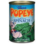 The Allens Popeye Low Salt Spinach