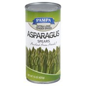 Pampa Asparagus Spears, Tender Green, Extra Long
