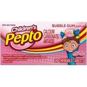 Pepto-Bismol Children's Upset & Sour Stomach Medicine  - Bubblegum Flavor Relief Stomach Remedy