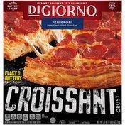 DiGiorno Pepperoni Frozen Pizza with Croissant Crust