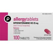 Publix Allergy, Tablets