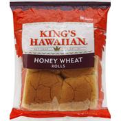 King's Hawaiian Rolls, Honey Wheat, Original