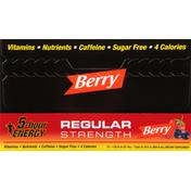 5-Hour Energy Energy Shot, Berry, Regular Strength, 12 Pack