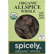 Spicely Organics Allspice, Whole, Organic