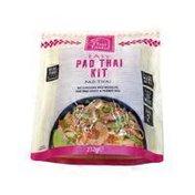 Thai Taste Easy Pad Thai Kit With Rice Noodles, Pad Thai Sauce And Peanut Mix