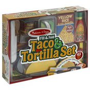 Melissa & Doug Play Set, Taco & Tortilla