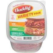 Buddig Ham, Turkey & Corned Beef Variety Pack