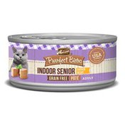 Merrick Purrfect Bistro Grain-Free Chicken Recipe Pate Indoor Senior Wet Cat Food