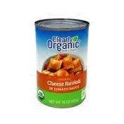 Clearly Organic Organic Cheese Ravioli In Tomato Sauce