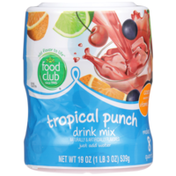 Food Club Tropical Punch Drink Mix