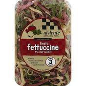 Al Dente Fettuccine, Tri-Color Noodles, Fiesta