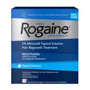 ROGAINE Men's Extra Strength 5% Minoxidil Topical Solution