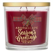 Aromascape Scented Candle Season's Greetings