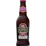 Crabbie's Ginger Beer, Alcoholic, Raspberry