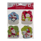 Ahold Smart Living Holiday Novelty Gift Tags - 16 CT
