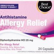 Best Choice Antihistamine Allergy Capsules