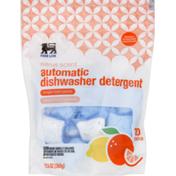 Food Lion Dishwasher Detergent, Automatic, Citrus Scent, Pouch