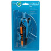 Simply Done Compass & Protractor Set