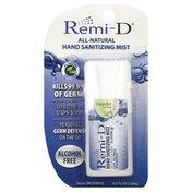 Remi D Hand Sanitizing Mist, Cucumber Tea Tree