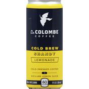 La Colombe Coffee, Cold Brew, Shandy Lemonade