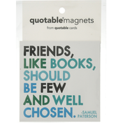 Quotable Magnets, Friends Like Books