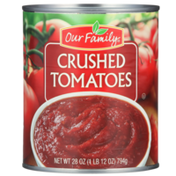 Our Family Crushed Tomatoes