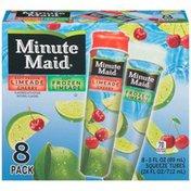 Minute Maid Soft Frozen Limeade & Cherry Limeade Limeade