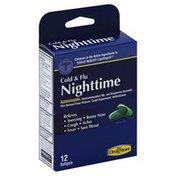 Lil Drug Store Cold & Flu, Nighttime, Softgels