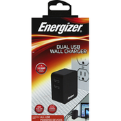 Energizer Wall Charger, Dual USB