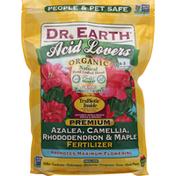 Dr. Earth Fertilizer, Organic, Azalea, Camellia, Rhododendron & Maple, Acid Lovers, Premium