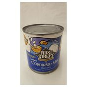 First Street Sweetened Condensed Milk