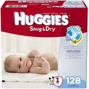 Huggies Snug & Dry Size 1 Diapers