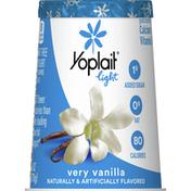 Yoplait Yogurt, Fat Free, Very Vanilla