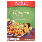 Stater Bros. Markets Enriched Macaroni Product, Rigatoni