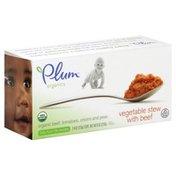 Plum Organics Baby Food, Vegetable Stew with Beef
