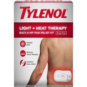 Tylenol® Tylenol Light + Heat Therapy Drug-Free Back & Hip Pain Relief Kit, 6 Items